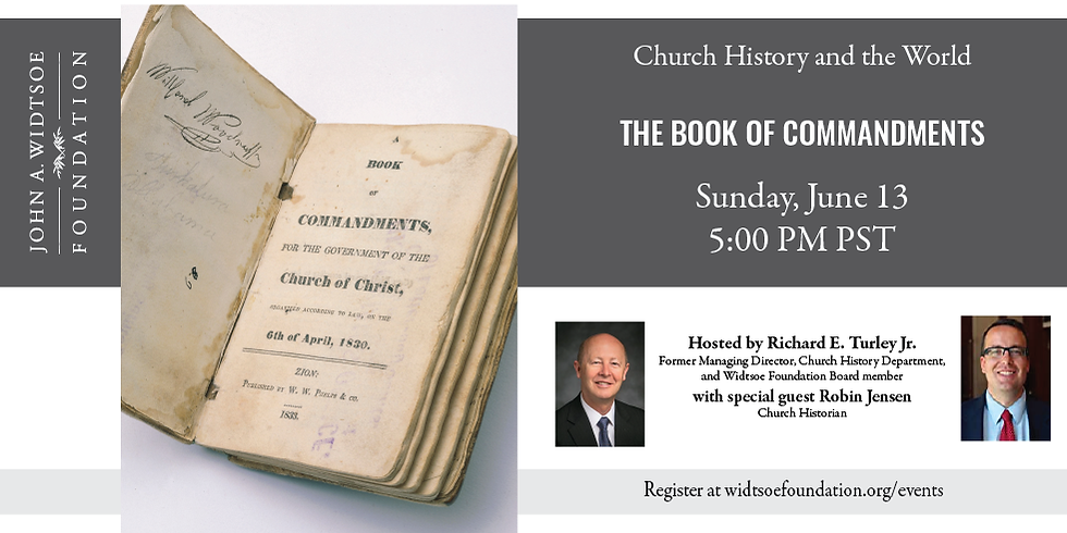 Church History and the World | The Book of Commandments
