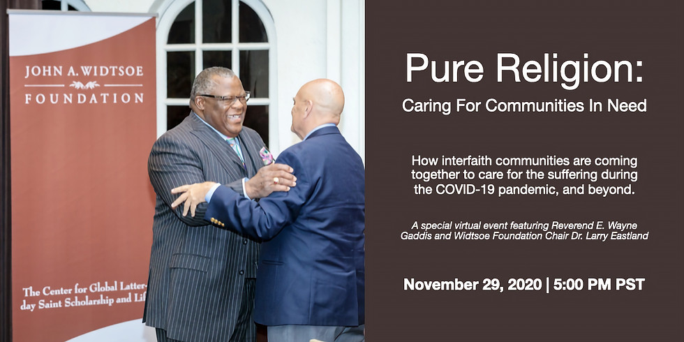 Pure Religion: Caring for Communities in Need