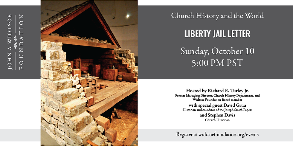 Church History and the World   Liberty Jail Letter