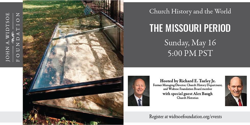 Church History and the World | The Missouri Period
