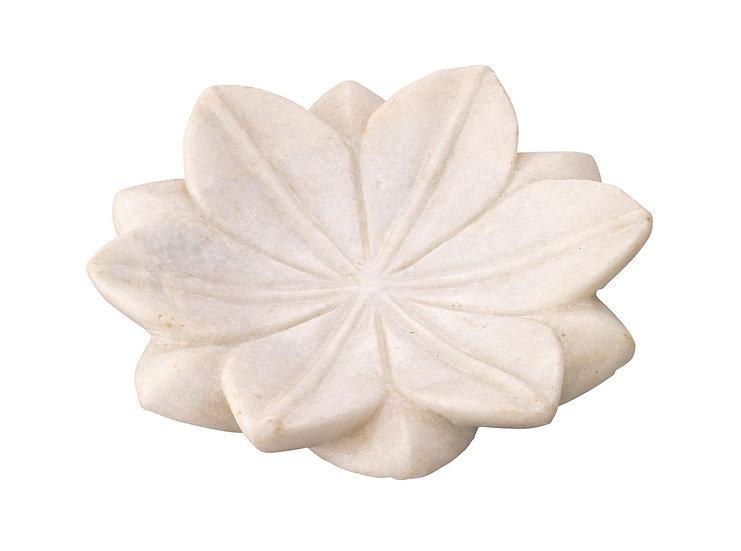 marble lotus plates