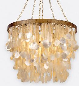 goddess chandelier