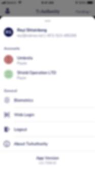 Payer app menu.png
