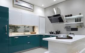 Modular Kitchen French Themed