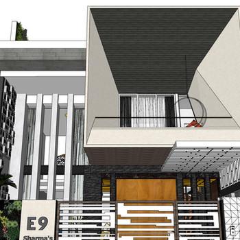 Residence in Noida