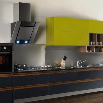 Straight-Shaped Modular Kitchen Mango Themed