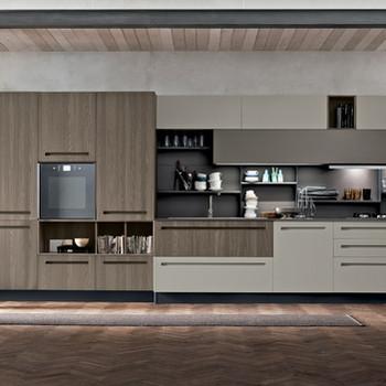 Modural Kitchen Industrial Theme
