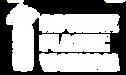Rethink plastic logo white with text