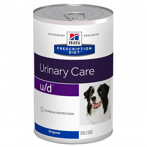 HILL'S PRESCRIPTION DIET - CANINE U/D SÄILYKE 370 G