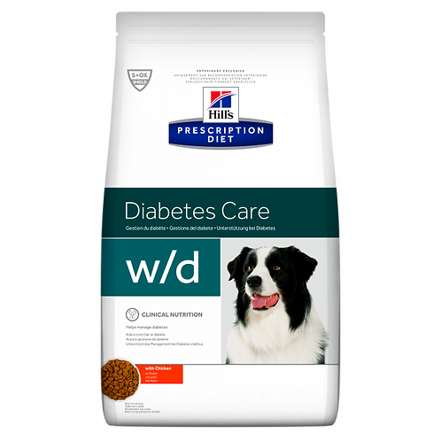 HILL'S PRESCRIPTION DIET - CANINE W/D