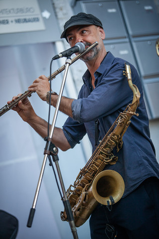 Marcio Tubino, saxophone & flute