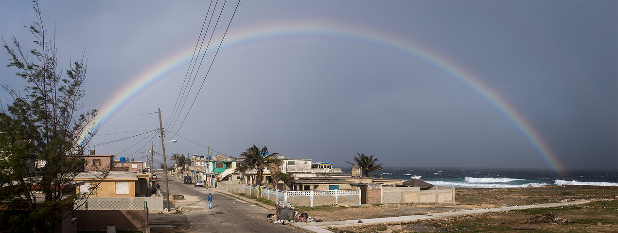 Regenbogen über Cojimar