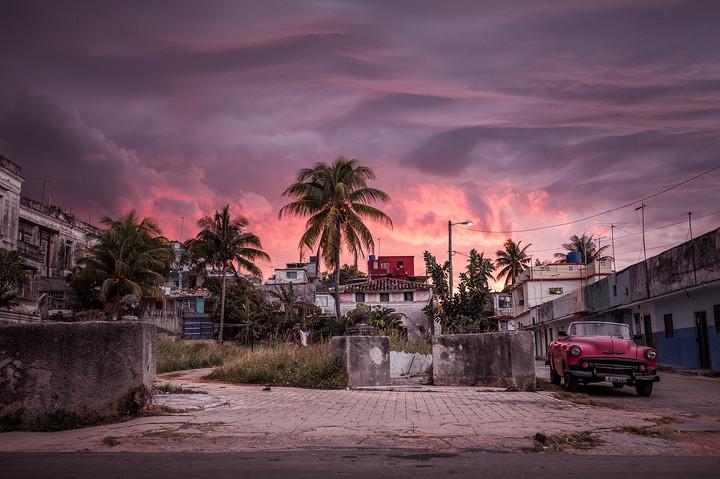 Sonnenuntergang in Cojimar