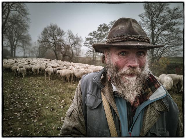 Schafhirte seit über 50 Jahren
