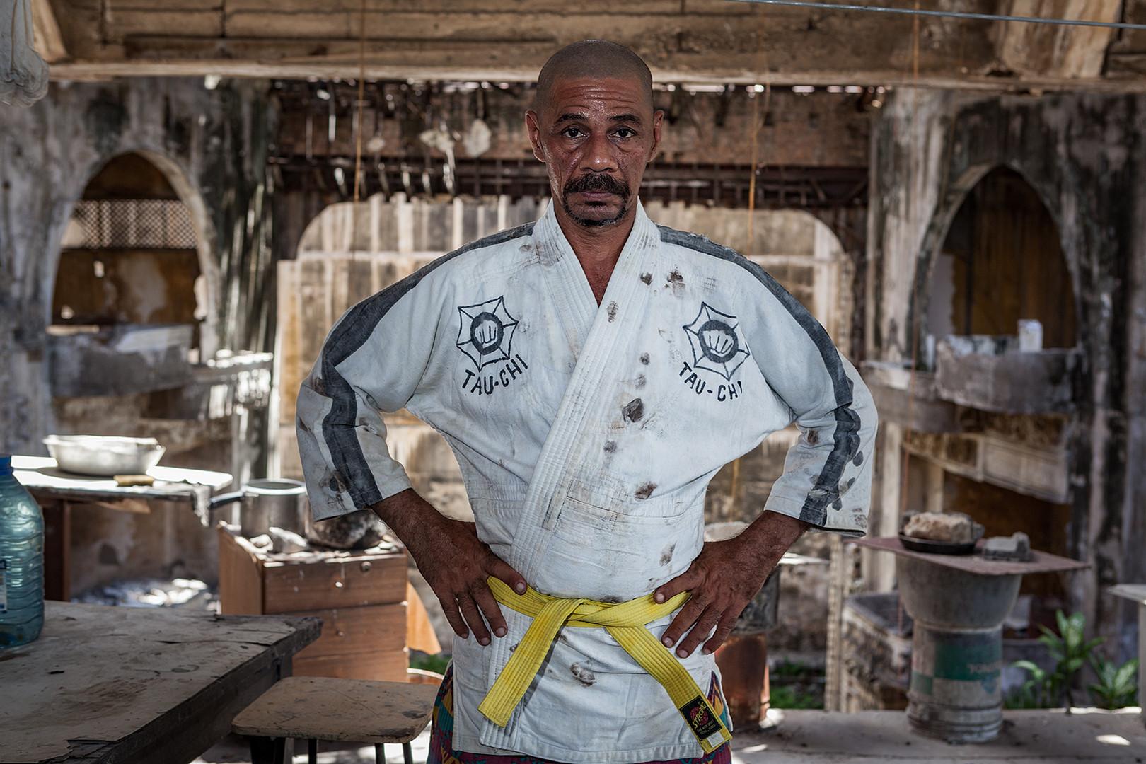Seit über 30 Jahren praktiziert Reinaldo verschiedene Kampfsportarten.