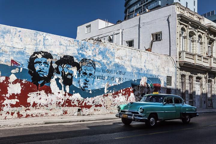 Graffitti - Ché, Camillo Cienfuego und Julio Antonio Mella