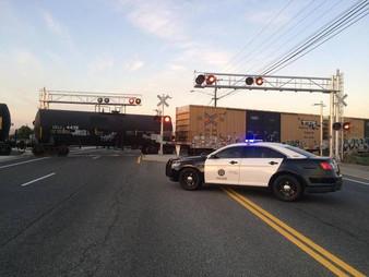 Kennewick man didn't react to train horn. Killed near Kamiakin High
