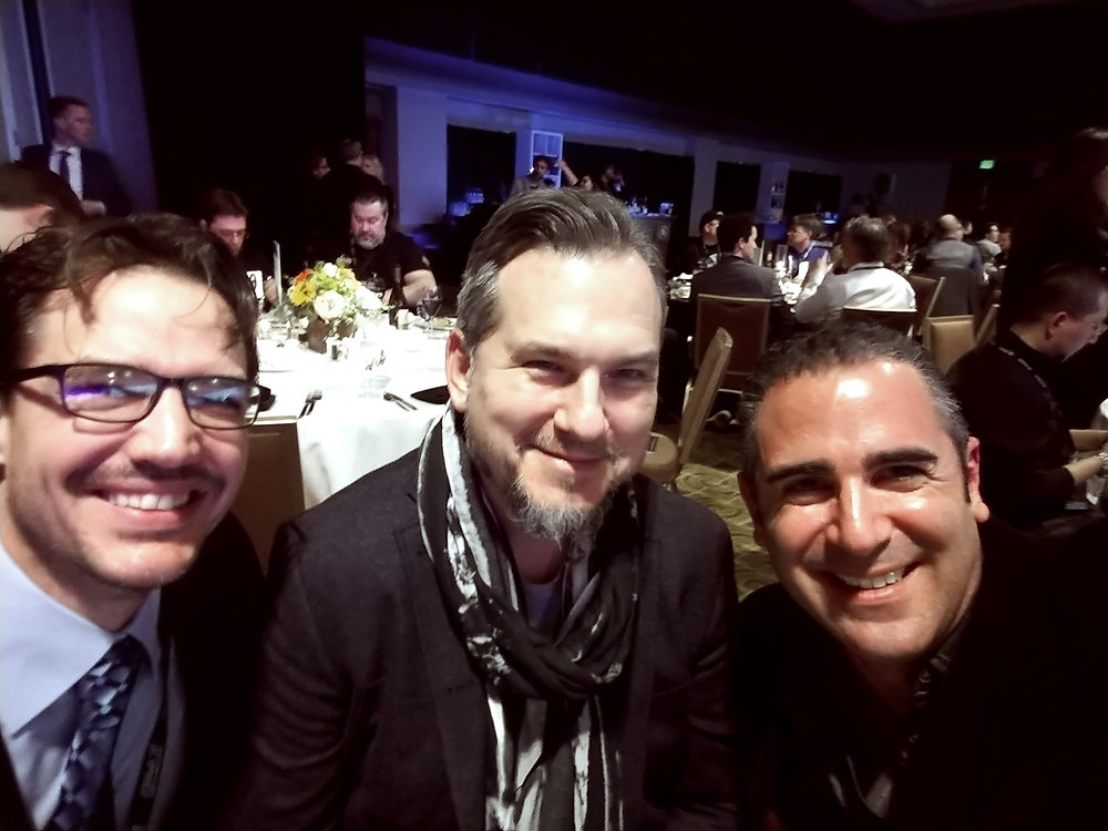 Dave Natale (L), Phil Kovats, and Paul Lipson (R)