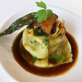 oxtail / truffle / parsnip