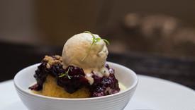 lavendar steamed pudding