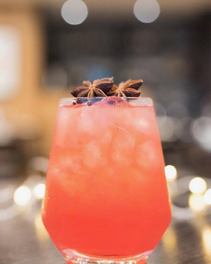 spiced plum cordial