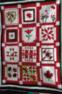 Canada 150 Quilt Cochrane Ontario Agricultural Society Fall Fair Raffle