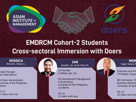 Partnership between the Asian Institute of Management (AIM), Philippines and Doers