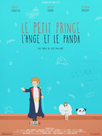Le petit prince, l'ange et le panda