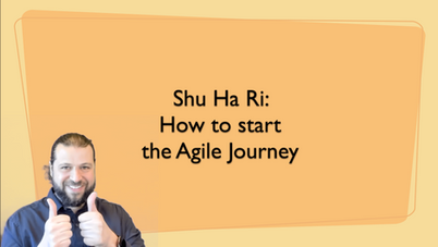 Shu Ha Ri: How to Start an Agile Journey