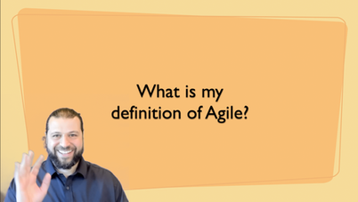 Defining Agile
