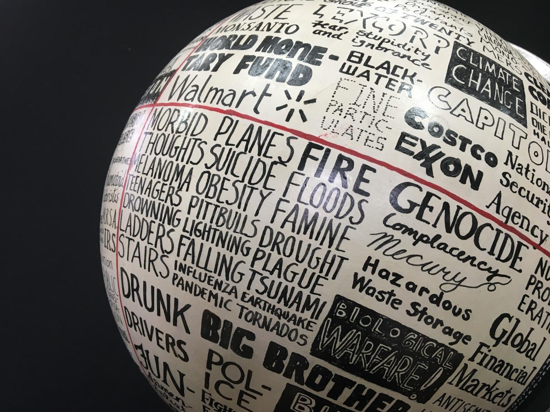 globe detail 1 of 2