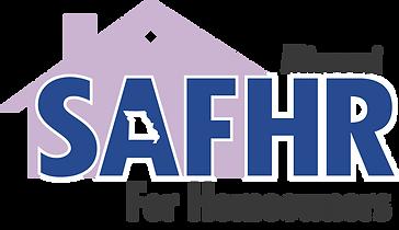 SAFHR for homeowners logo