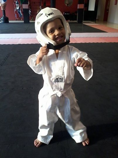 Taekwondo 4 anos