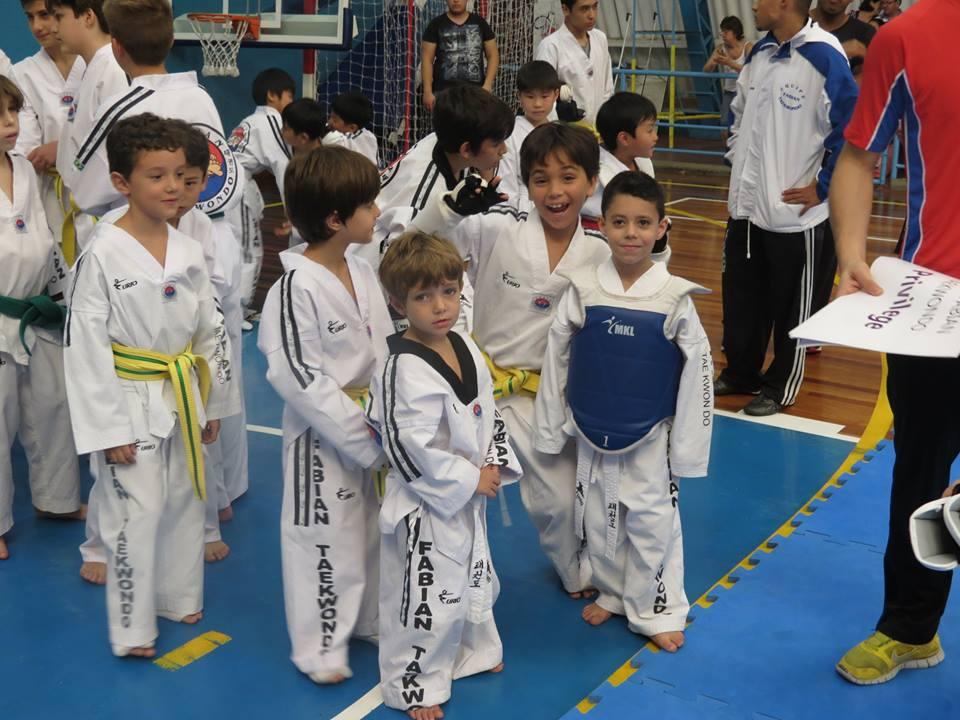 Taekwondo competição