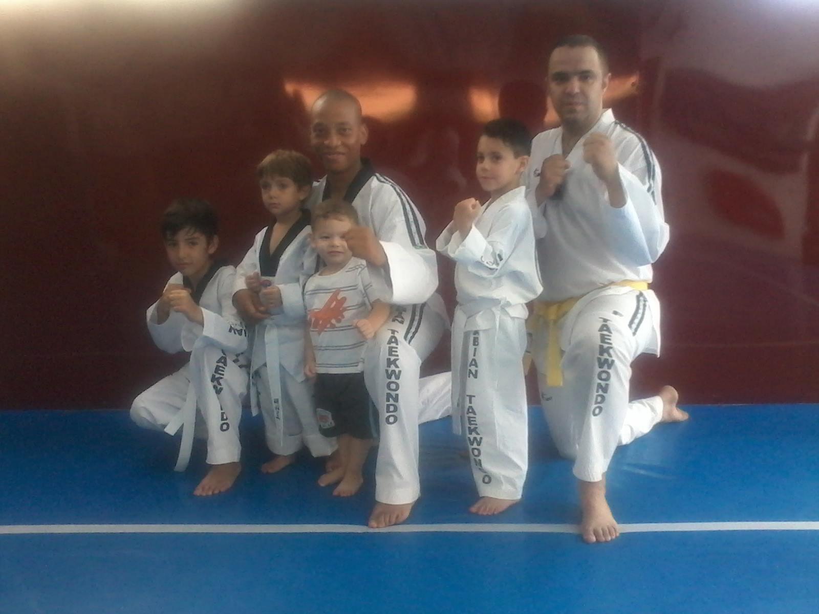 Taekwondo manhã