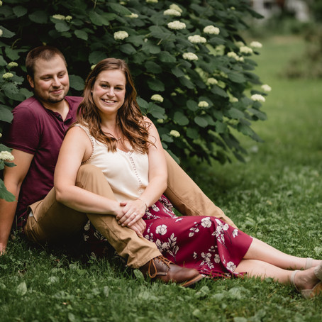 Jessica & Jacob's Willy Street Engagement Session