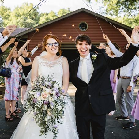 Sarah & Shane's Backyard Ceremony