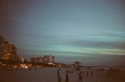 A boardwalk in Florida