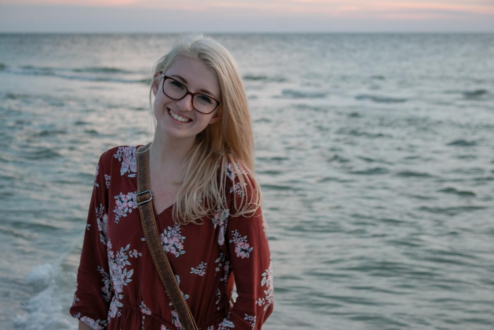 A beach in Clearwater, FL