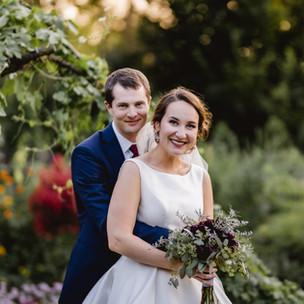 Randy + Geneva's Olbrich Garden Wedding