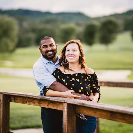 Natalie & Jon's Engagement Session in La Crosse, WI