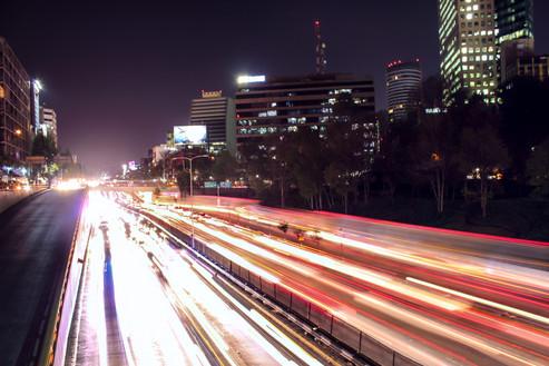 Paseo de la Reforma in Mexico City, MX