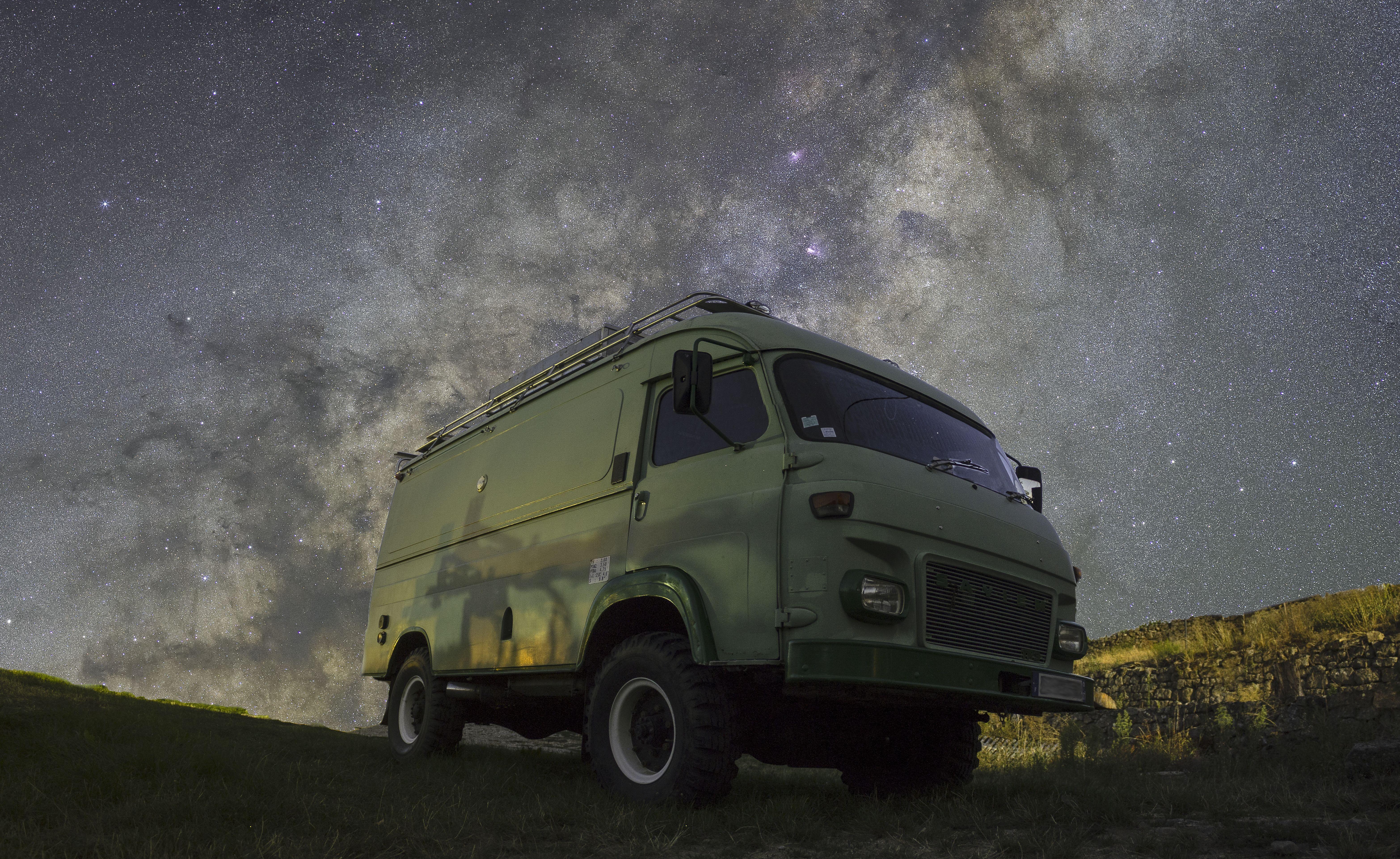 Pause sous les étoiles
