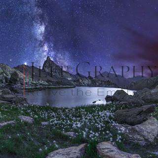 Le lac Blanchet étoilé