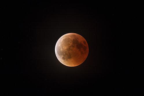 La lune rousse du 27 juillet 2018