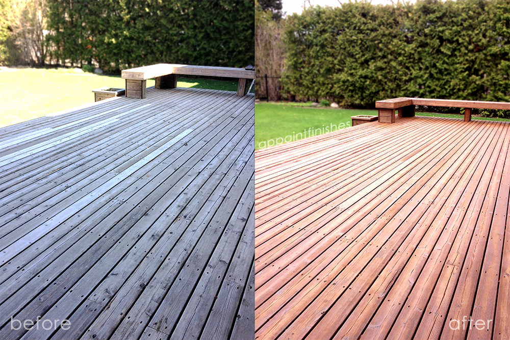 Refinished Deck