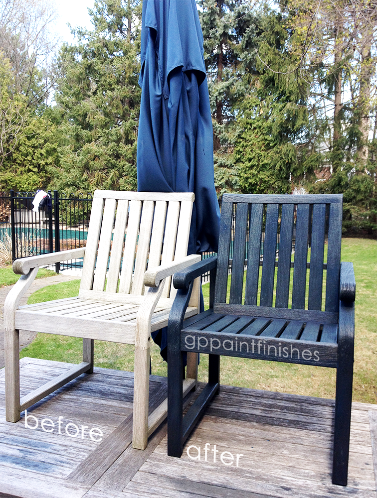 Refinished Deck Chairs
