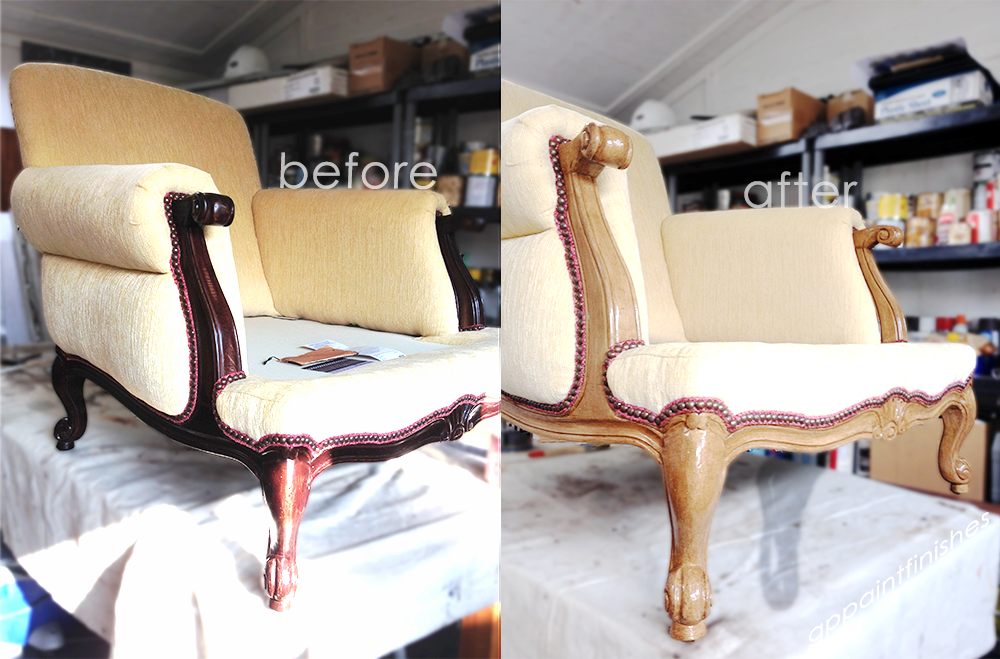 Refinished Arm Chair