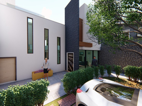 Remodelación de casa en la ciudad