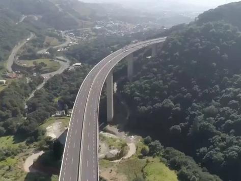 Así luce la nueva autopista Toluca-Naucalpan, en donde GESTORY ya comenzó a trabajar